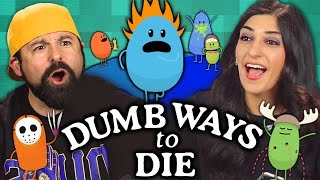 DUMB WAYS TO DIE GAME (Adults React: Gaming)
