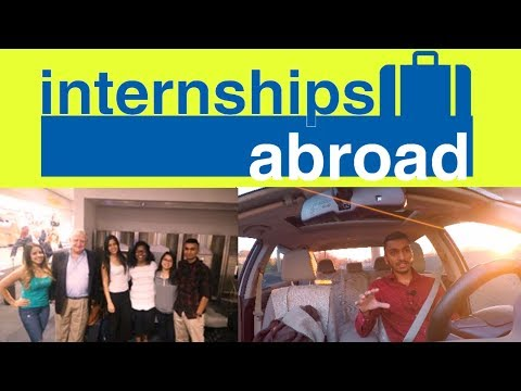 Get An Internship Abroad! - Ireland UK