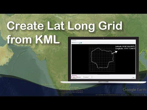 Create Lat Long Grid from KML