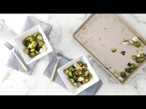 Simple Roasted Brussels Sprouts- Martha Stewart