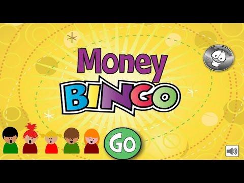 Money BINGO - Practice counting money Game Kids