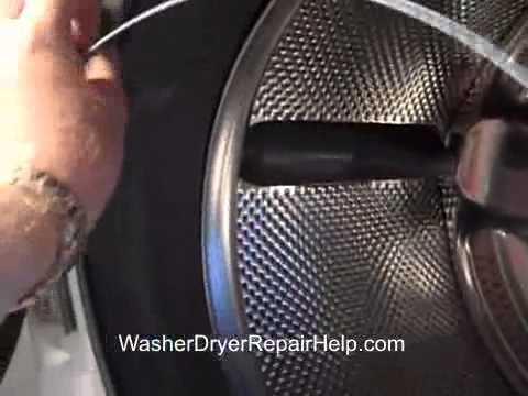 How to replace the outer tub on a Whirlpool Duet or Kenmore Elite