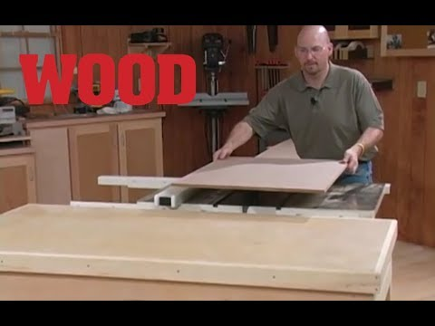 How to Handle and Cut Sheet Goods - WOOD magazine