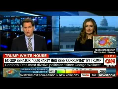 WH RIPS GOP SENATOR FOR TRUMP ''COMPETENCE'' REMARKS ON CNN Breaking News