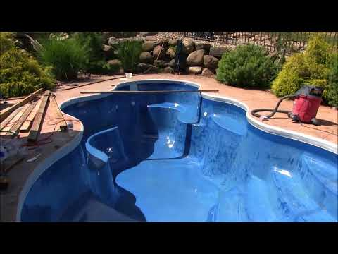 Living Legendary with Ask The Pool Guy: Installing ecoFinish Time Lapse