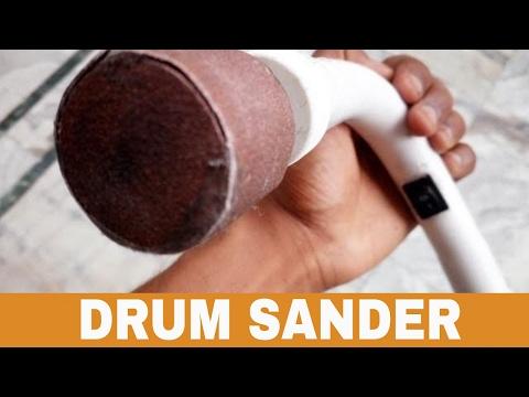 DIY Drum Sander | How to Make a Drum Sander at home