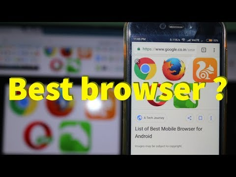 Top 5 New Fastest Browser For Android Mobile 2018 & Get Best High Speed Surfing Experience