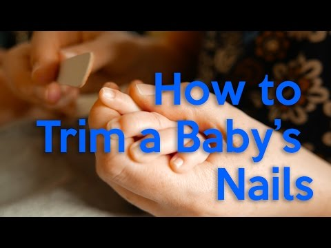 How To Trim A Infant's Nails