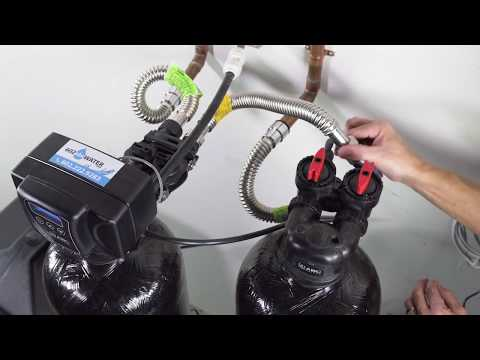 Installing an Upflow Carbon Filtration System to a Fleck 5600sxt Water Softener by 602abcWATER