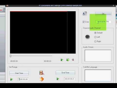 HOW TO CONVERT HD WIDE SCREEN VIDEOS TO DVD WITH FORMAT FACTORY FREE CONVERTER