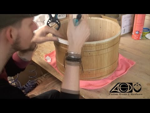 Custom Snare Drum - How it's made
