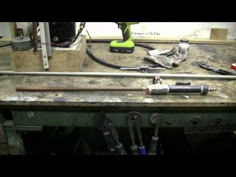Do It Yourself - How To Make A Simple High Pressure Air Cannon