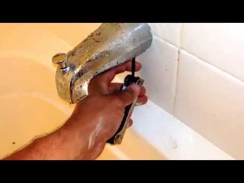 Bathtub Spout/Diverter Replacement EASY!