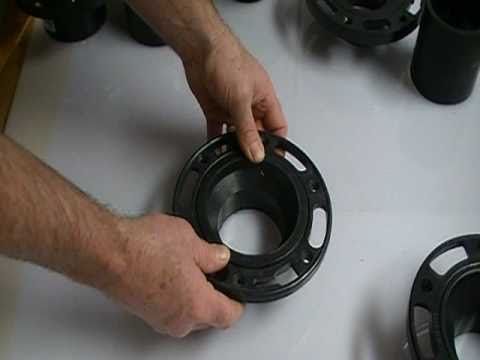 Toilet flanges for different applications.