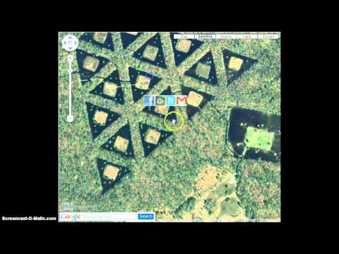UFO and weird things on Google Earth!