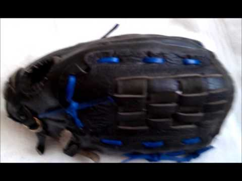 Nike KDR1300 Softball Glove after Relacing