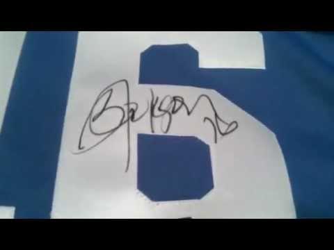 Bo Jackson Signed Kansas City Royals Baseball Jersey Jackson Hologram