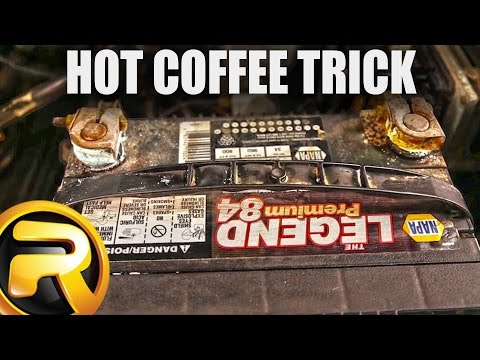 How to Remove Battery Corrosion with Hot Coffee