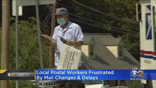 Frustrations Mount At Local Post Offices