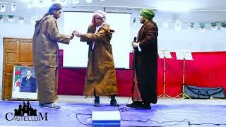 #x202b;مسرحية ثورية من اداء نادي كاستيلوم إحتفالا بالذكرى 64 لإندلاع الثوة التحريرية المجيدة#x202c;lrm;