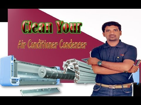 How To Clean Split Air Conditioner Indoor Unit