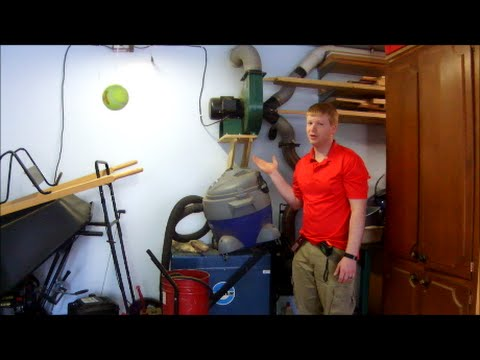 Engineering a Dust Collection System for Your Shop