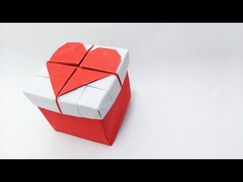 Valentine's Day ideas: Origami 3D Heart Box