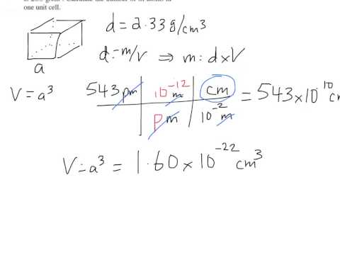 Problem 12.49 - # Si atoms in unit cell