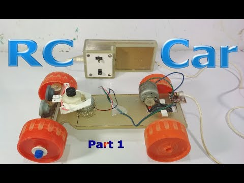 How to make a RC Car at home