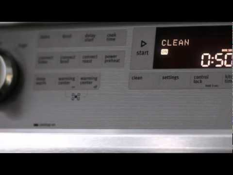 AquaLift self-clean oven technology