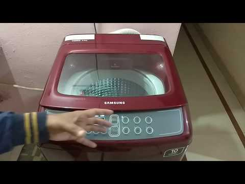 How to Operate Samsung 6.5 kg Fully Automatic  Washing Machine (WA65M4500HP/TL) REVIEW HINDI Best