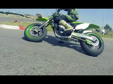 How to back it in - Socal Supermoto