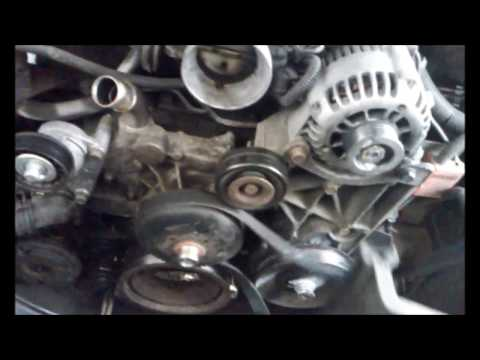 2000 GMC Sierra 4.8L V8 Waterpump and Thermostat Replacement Part 2