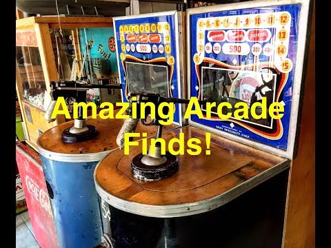 Treasures from an abandoned arcade! Arcade hunting we will go!