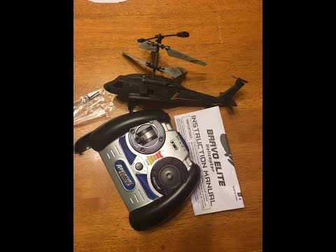 First Part Adventure Force Bravo Elite 3.5 Channels Helicopter Walmart Review And Flight