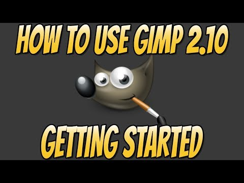 How to Use GIMP 2.10 Basics Beginners Guide   Getting Started With GIMP 2.10