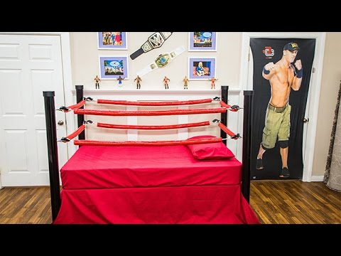 How To - DIY Wrestling Bed for Kids - Hallmark Channel