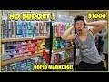 NO BUDGET AT THE ART STORE SHOPPING SPREE Worlds Biggest Art Store Japan Vlog 4