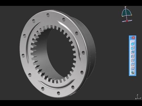 Catia Tutorial Part Design Assembly Planetry Gear Box Part 1