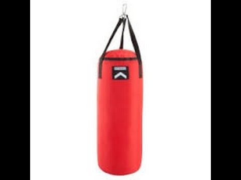 How to make punching bag at home easy 2016