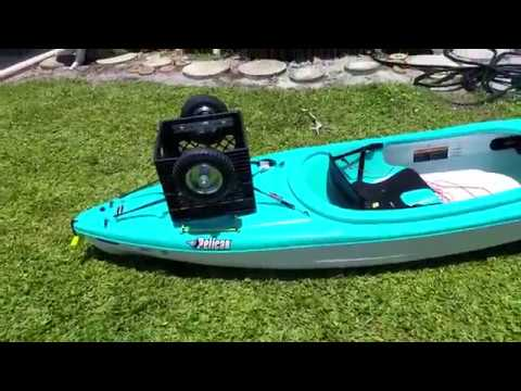 Quick and Simple Milk Crate Kayak Cart