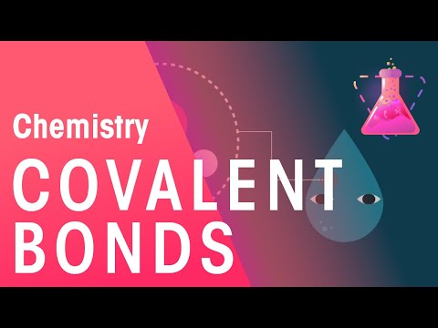 How Does Water Bond - Covalent Bonds | Chemistry for All | FuseSchool