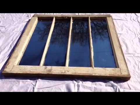 Window Mirror No. 4 - Four Pane 01/18/2013