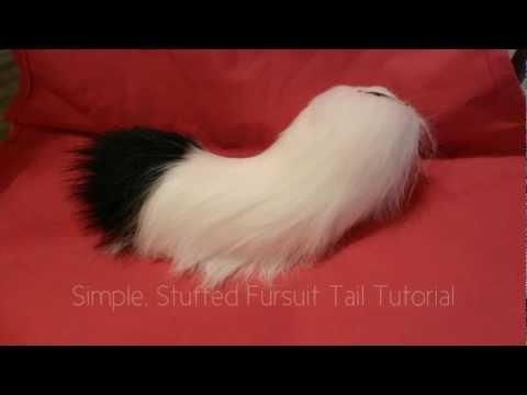 Fursuit Tail Tutorial- Vlog #5