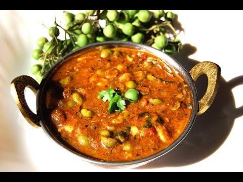 Sundakkai palakottai kara kuzhambu | Turkey berry jackfruit seeds curry