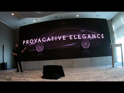 2019 Lexus ES design presentation by General Manager, Koichi Suga