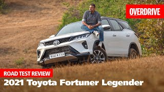 2021 Toyota Fortuner Legender road test review - all about the image, glitz \u0026 glamour! | OVERDRIVE