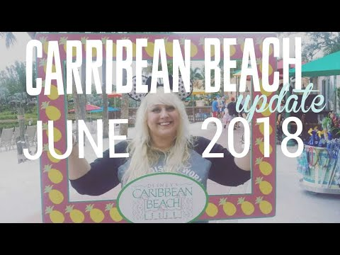 Disney's Caribbean Beach Update JUNE 2018 and opening our first mail!