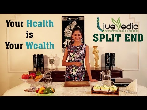 DIY: How To Remove Split Ends with natural home remedies - Hair Care Tips | LIVE VEDIC