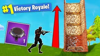 The LEGENDARY Launch Pad & Spike Trap In Fortnite Battle Royale!